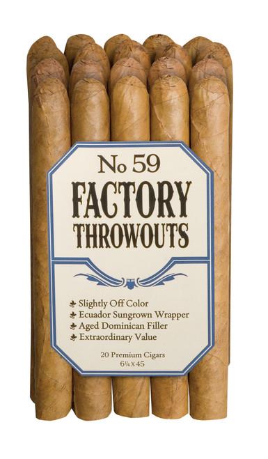 Factory Throwouts Regular No. 59