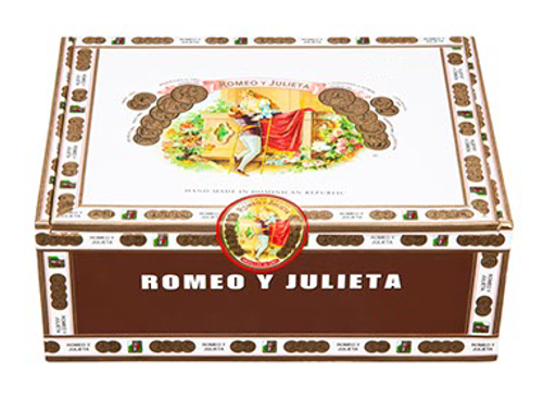 Romeo y Julieta 1875 Exhibicion No. 1 52x8.5