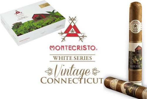 Montecristo White Series Vintage Connecticut Double Corona