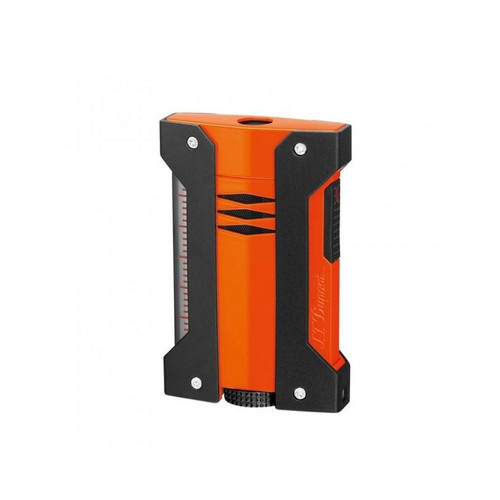 S.T.Dupont Defi Extreme Single Torch Flame Lighter - Orange