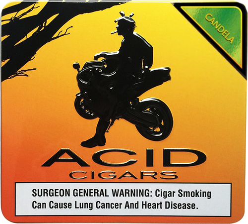 Acid Krush Green Candela Tins