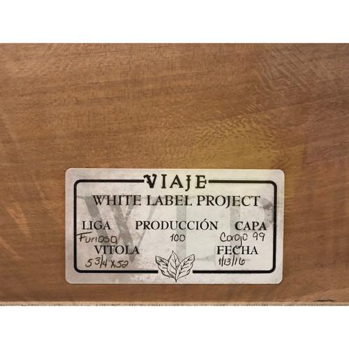 Viaje White Label Project 5.75x52 Liga Furiosa 2016 (Box of 50)