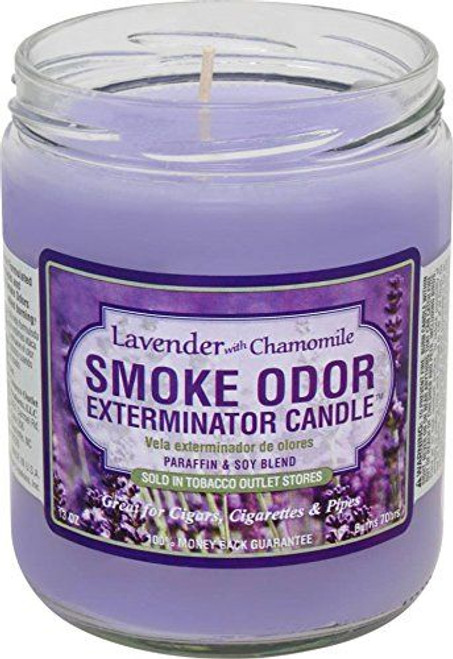 Smoke Odor Candle Lavender With Chamomile