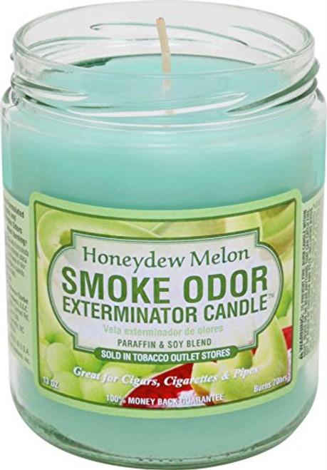 Smoke Odor Candle Honeydew Melon