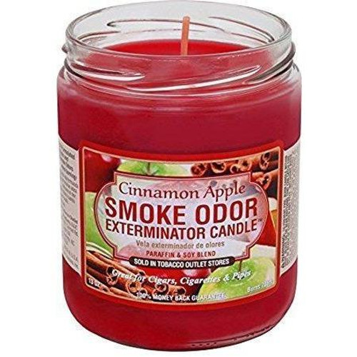 Smoke Odor Candle Cinnamon Apple