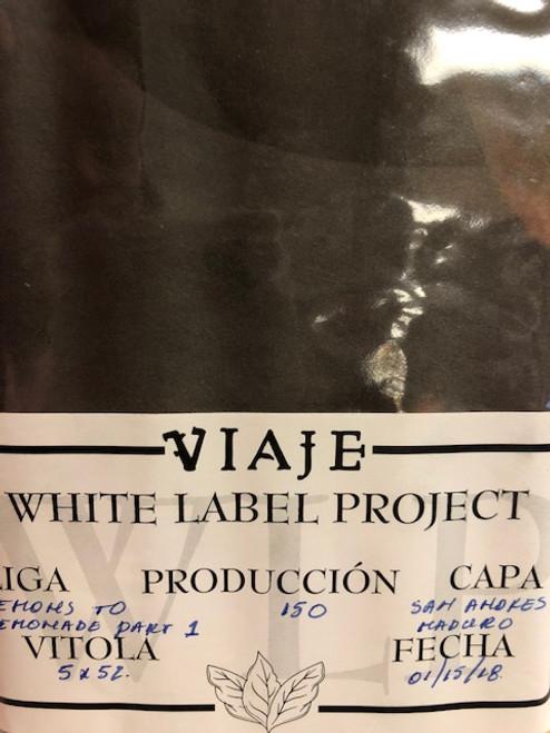 Viaje White Label Project Lemons to Lemonade Part 1