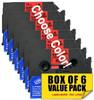 6/Pack LMe  12mm Compatible P-touch Tape - Choose your color!