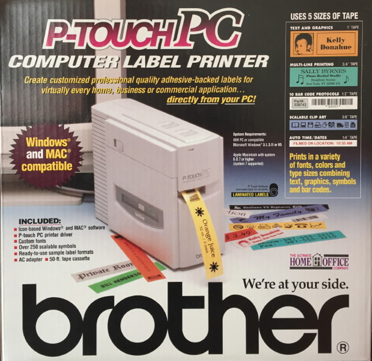 Brother Pt Pc Computer Label Printer