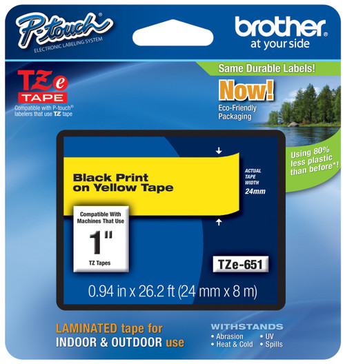 Brother TZ-651 p-touch tape