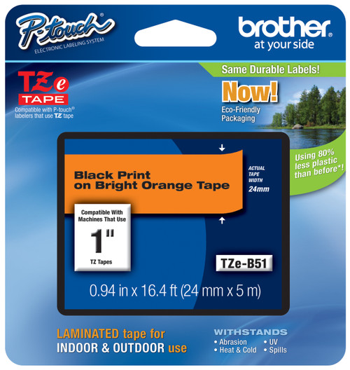Brother TZ-B51 p-touch tapes