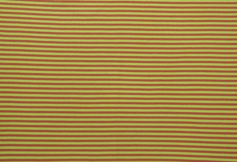 Yellow/Orange Stripe Ribbing LS