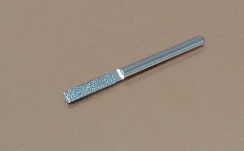 """Diamond Machine File .060"""" Radius, .120"""" Diameter, 100 Grit"""