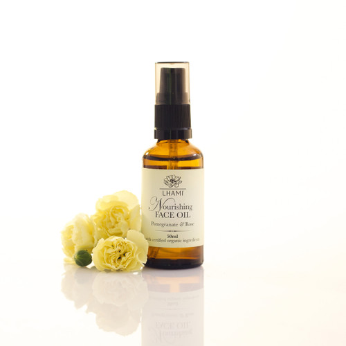 Nourishing Face Oil with Pomegranate & Rose 50ml