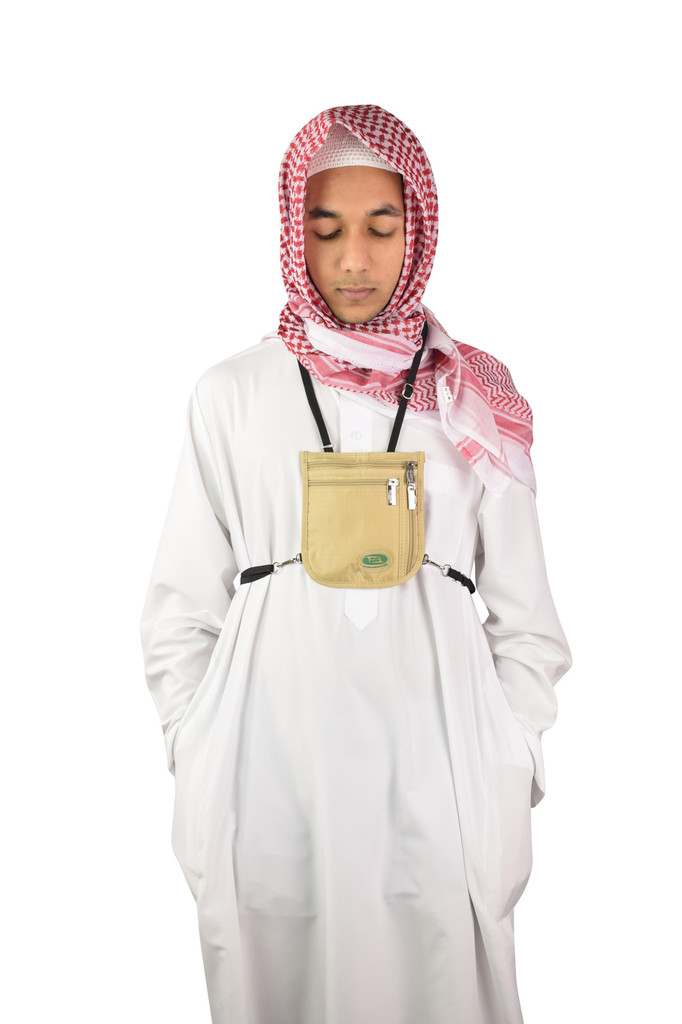 Hajj & Umrah - Secure Neck Bag