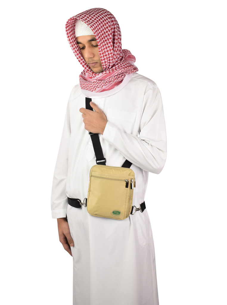 Hajj & Umrah - Secure Side Bag & Neck Bag