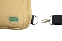 Hajj Safe - Secure Side Bag & Neck Bag - With detachable Chest Strap.
