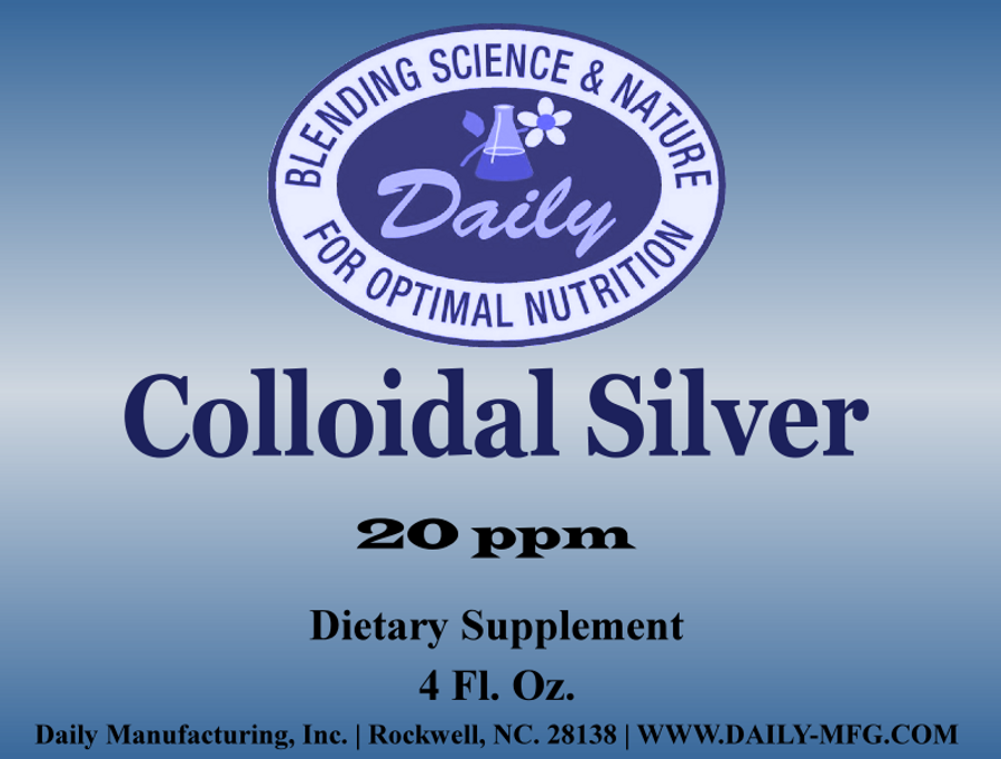 Colloidal Silver | 4 fl oz
