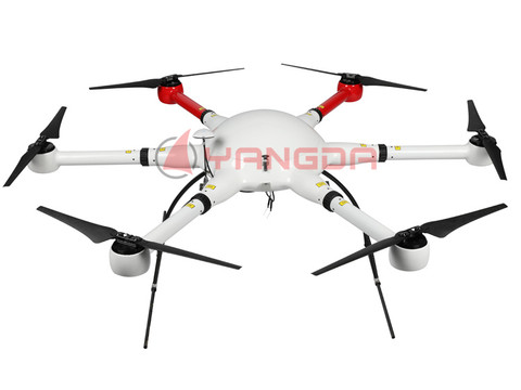 YD6-1000S Long Flight Time Waterproof Hexacopter Frame