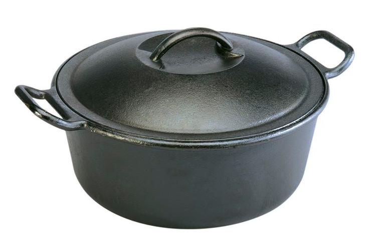 Pro Logic Cast Iron 7 Quart Dutch Oven With Loop Handles