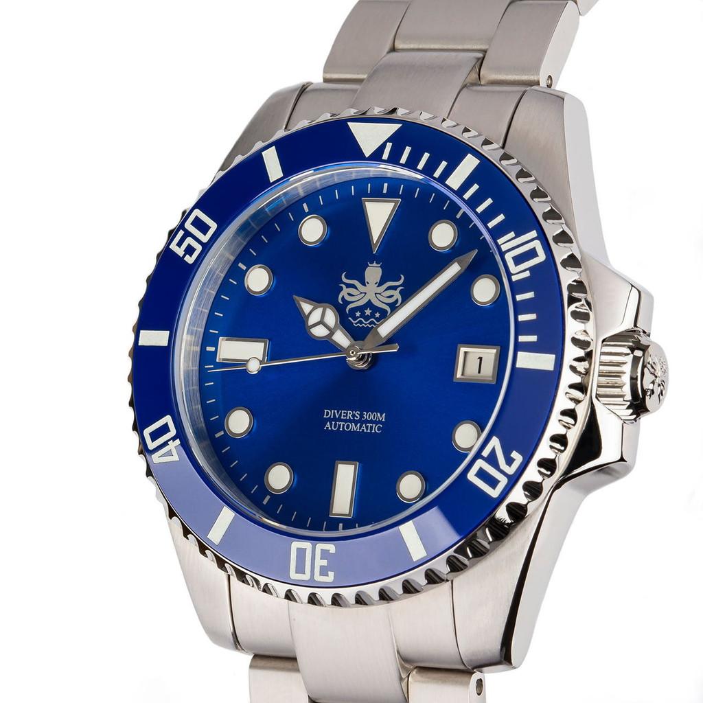 PHOIBOS PY007B 300M Automatic Diver Watch Blue