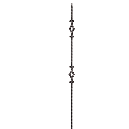 Tuscany Style iron or metal balusters from Lighted Landings