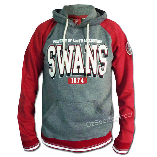 19c2091a0 Sydney Swans Stamp Pullover Hoodie - OzSportsDirect