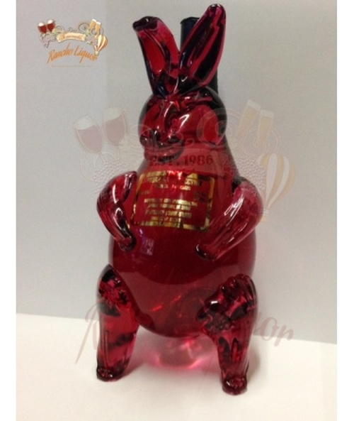 Collectible Rabbit Vodka Bottle 375mL