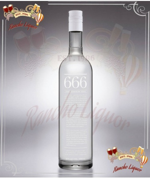 666 Tasmanian Pure Vodka