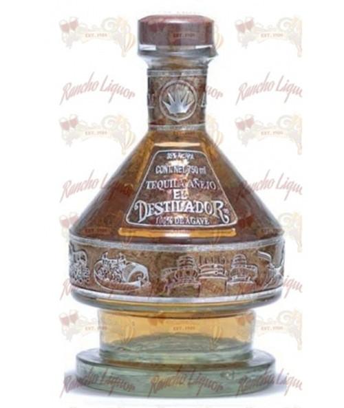 El Destilador Anejo 100% Agave Tequila 750mL