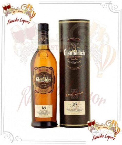 Glenfiddich 18 Year Single Malt Scotch Whiskey