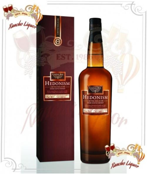 Hedonism Scotch Whiskey