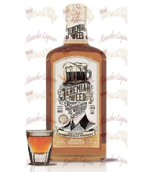 Jeremiah Weed Sarsaparilla Whiskey 750 mL