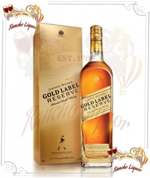 Johnnie Walker Gold Label Whiskey