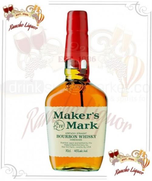 Maker's Mark Kentucky Straight Bourbon Whiskey 750mL