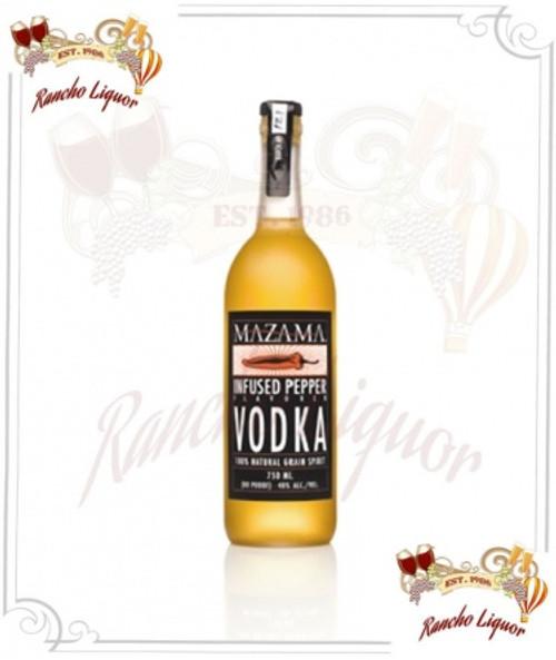 Mazama Infused Pepper Vodka 750mL