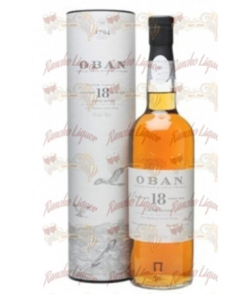 Oban 18 Years Single Malt Scotch Whisky 750mL
