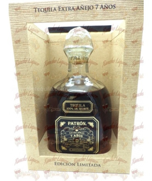 Patron Extra Anejo Tequila 7 Years 750 m.L.
