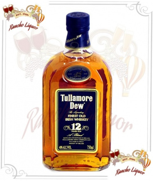 Tullamore Dew 12 Years Old Irish Whiskey 750mL