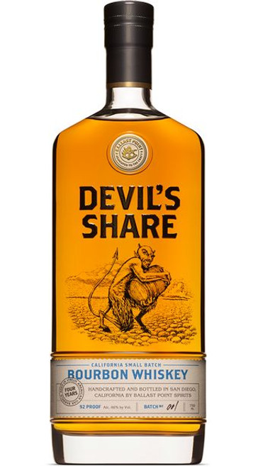 Ballast Point Devil's Share Bourbon Whiskey 750mL