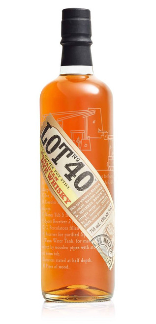 Lot No. 40 Canadian Whisky 750mL