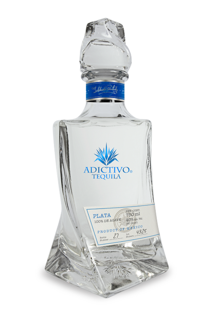 Tequila Adictivo Plata 750mL