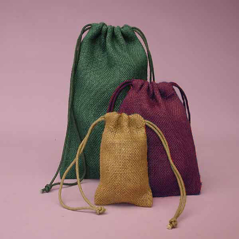 Colored Burlap Bags 3x5 Available in 8 colors