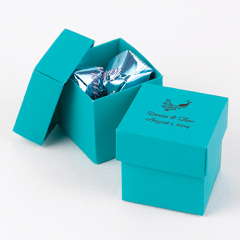 Palm 2 piece Favor Boxes (Pack of 25)