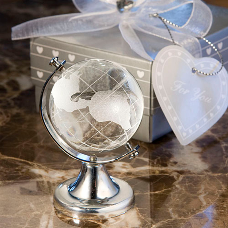 Choice Crystal Globe Favor