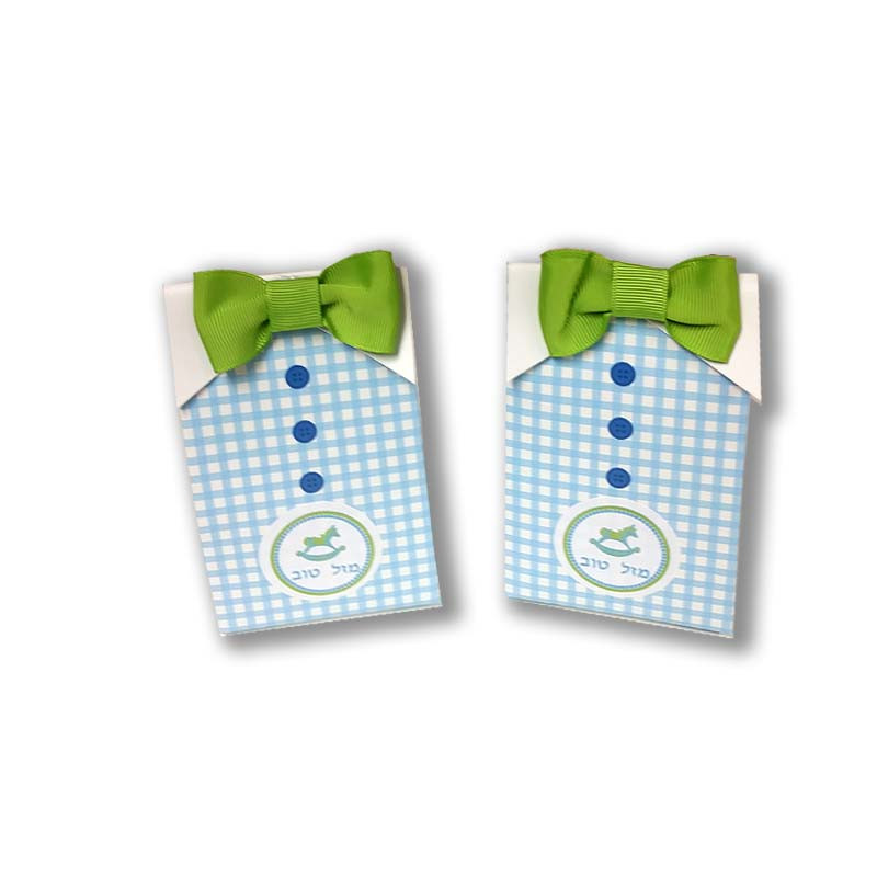 """""""MY LITTLE MAN"""" CANDY BOXES (Set Of 24) (AVAILABLE PERSONALIZED)"""