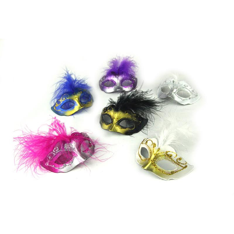 "3"" Masks. Colors Available. Set of 12"
