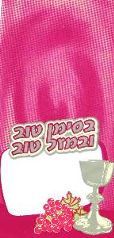 Cellophane Simcha Bags (Pack of 25)