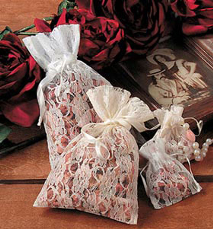 Lace Favor Bag