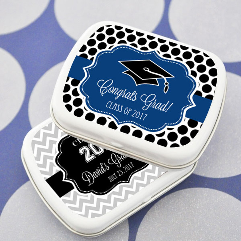 Hats off to You Graduation Mint Tins