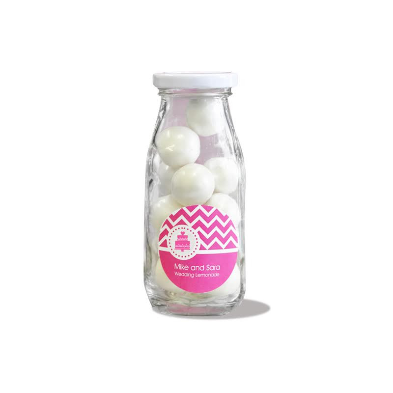 MOD Pattern Theme Personalized Milk Bottles